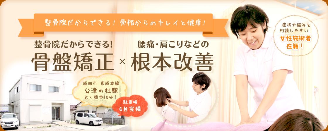 成田市地域内で口コミ1位!深層筋調整かける背骨・骨盤矯正×関節調整でどこに行っても改善しない痛みを根本治療!